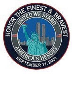 "Honor The Finest & Bravest 6"" Patch"