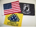 "6"" x 9"" Motorcycle Flag Package"
