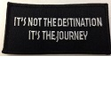 It's not the destination its the journey