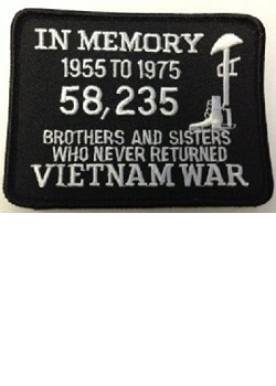 In Memory Vietnam Patch