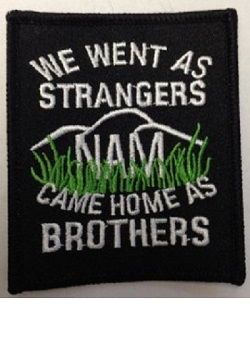 We went as strangers came home as brothers patch_MAIN