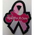 Ride for a Cure Ribbon Patch_THUMBNAIL