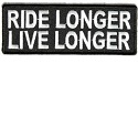 Ride Longer Live Longer Patch_THUMBNAIL