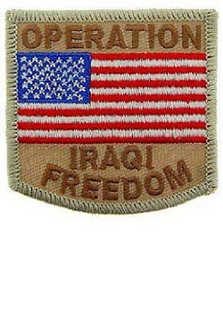Operation Iraqi Freedom Patch