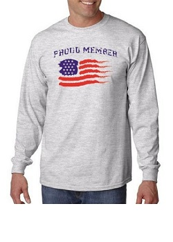 Proud Member USA Long Sleeve Shirt
