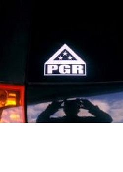 PGR Silhouette Decal