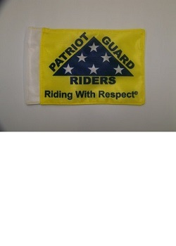 "6"" x 9"" PGR Motorcycle Flag"