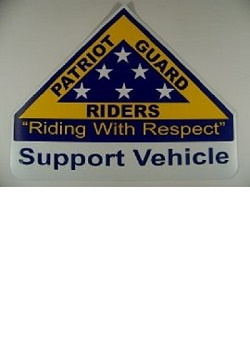 PGR Support Vehicle Magnet
