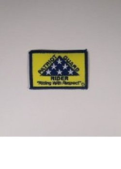 PGR Rectangular Vest Patch