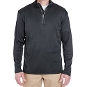 Cool Dry Long-sleeve Zip T-shirt w/PGR Logo Mini-Thumbnail