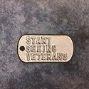Start Seeing Veterans Dog Tag Patch