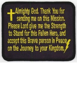 Flag Line Prayer Patch MAIN