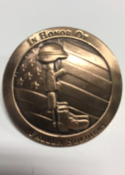 Fallen Soldier Concho Pin MAIN