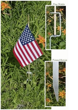 Gravesite Flag Holder MAIN
