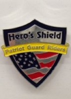 Hero's Shield Pin