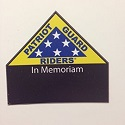 PGR In Memoriam Decal