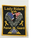 PGR Lady Riders Patch