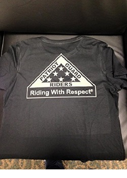 Ladies Short Sleeve T-shirt with Riding With Respect logo (designer series)