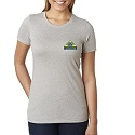 Ladies Short Sleeve Shirt, Standing for Those who Stood for us Logo Mini-Thumbnail