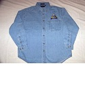 Long Sleeve Denim Shirt Mini-Thumbnail