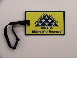 PGR Riding with Respect Luggage Tag