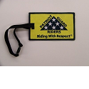 PGR Riding with Respect Luggage Tag Mini-Thumbnail