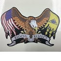 PGR Eagle Flag Decal