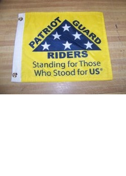 "12"" x 15"" PGR Flag with Grommets"