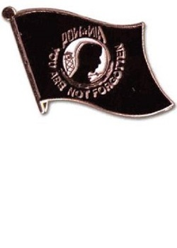 POW/MIA Lapel Pin MAIN