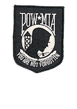 POW/MIA Badge Patch MAIN
