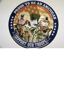 Proud To Be An American / Support Our Troops