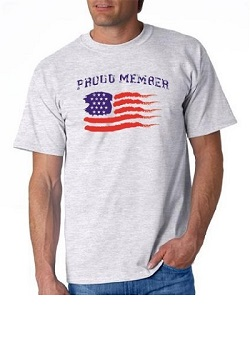 Proud Member USA T-shirt