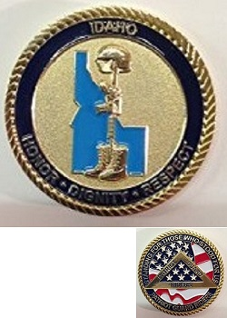 Idaho State Challenge Coin