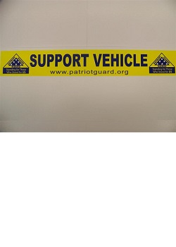 PGR Support Vehicle Strip