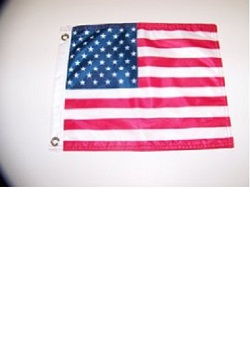 "12"" x 15"" USA Flag with Grommets"