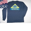Standard Long Sleeve Tee-shirt w/ Logo, USA Made Mini-Thumbnail