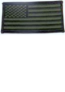 USA Flag Military Green MAIN