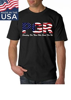 PGR Stars & Stripes T-Shirt USA Made