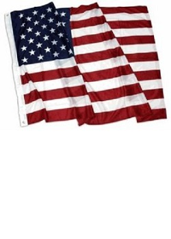 3' X 5' USA Polyester Flag