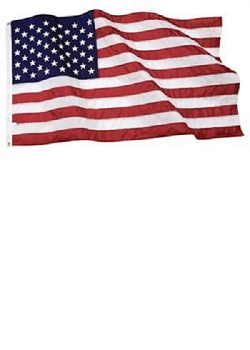 3' X 5' USA Poly-Cotton Flag MAIN