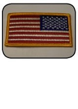 Right-Reading USA Flag Patch MAIN