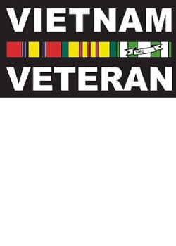 Vietnam Veteran Decal MAIN