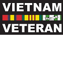 Vietnam Veteran Decal THUMBNAIL