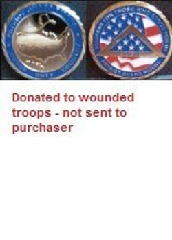 Wounded Warrior Challenge Coin MAIN