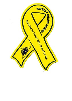 Yellow Ribbon Support Magnet