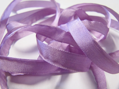 YLI Silk Ribbon, 7mm — 023 (lilac) MAIN