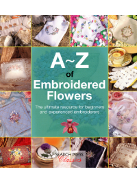 A~Z of Embroidered Flowers – by Search Press THUMBNAIL