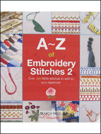 A~Z of Embroidery Stitches 2 – by Search Press THUMBNAIL