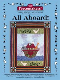 All Aboard Crib Quilt THUMBNAIL