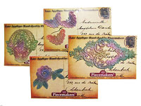 Hand Dyed Lace Appliques by Piecemakers